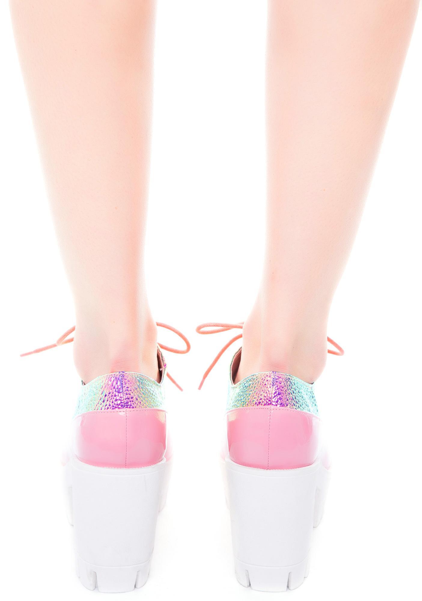 Pink Oxford Heels
