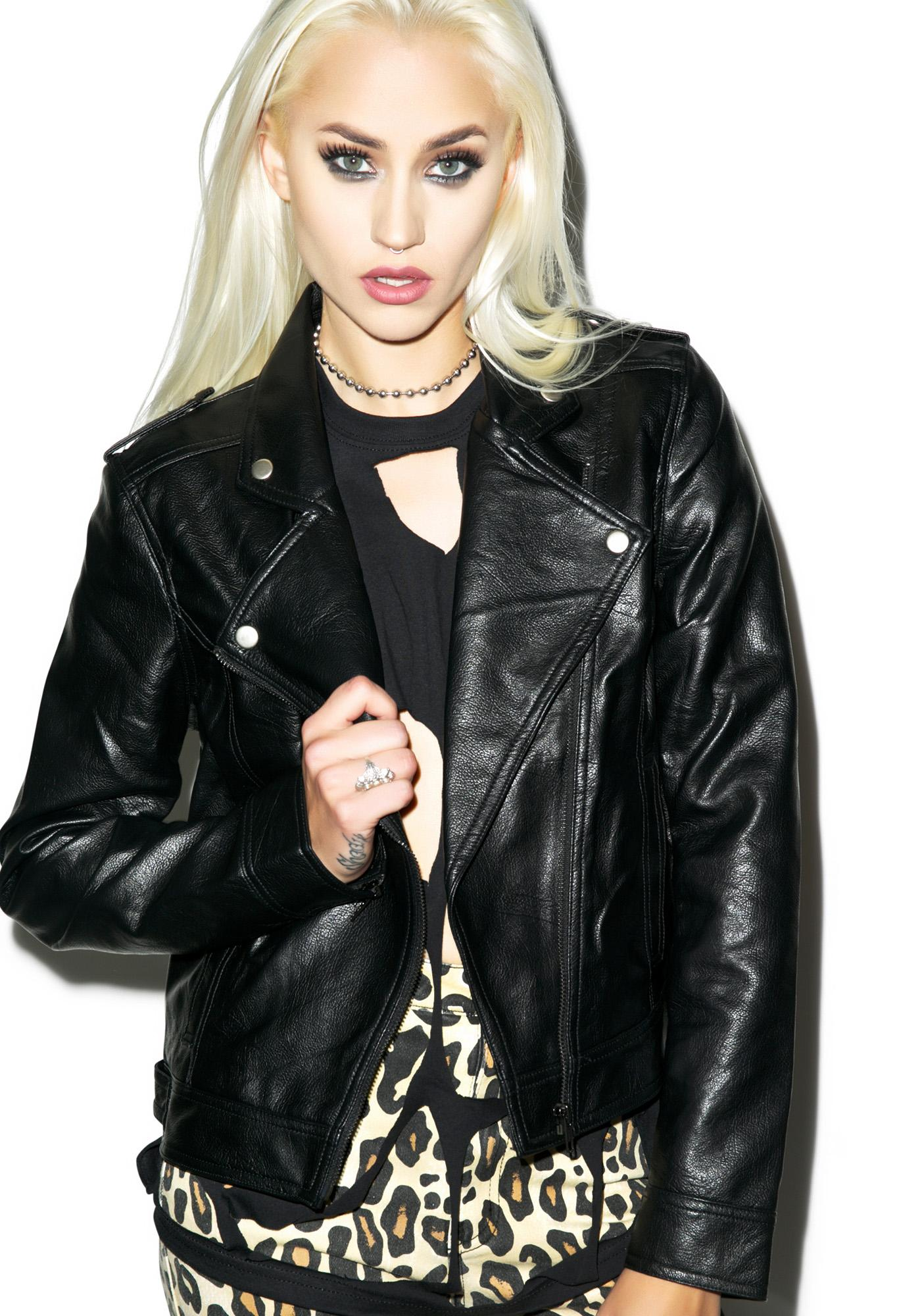 Evil Twin Nightshade Biker Jacket