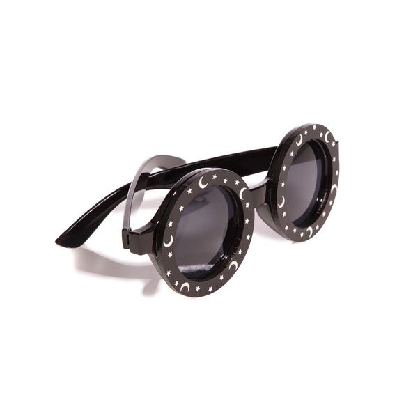 Witch Worldwide Moon And Stars Sunglasses