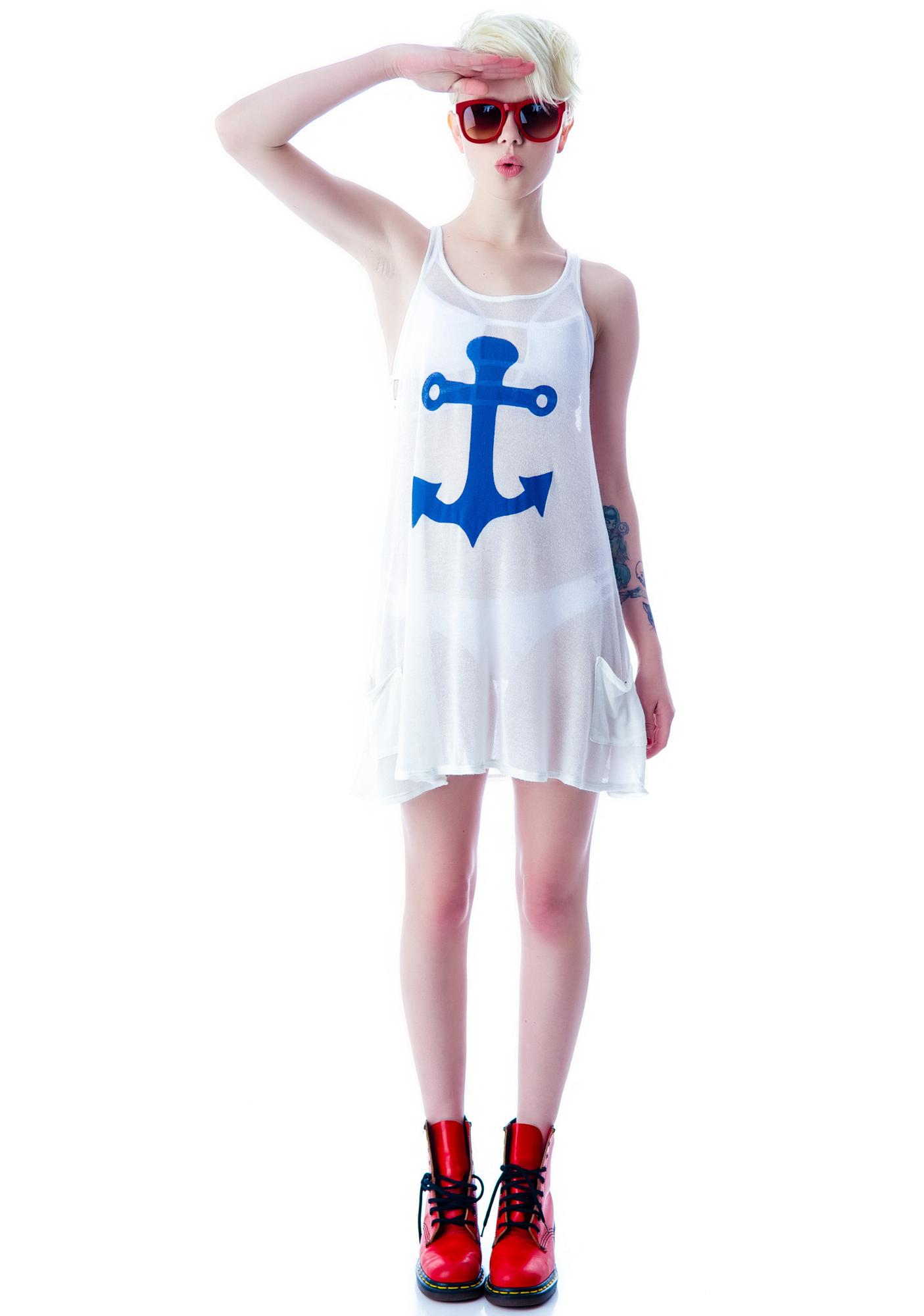 Wildfox Couture Yacht Baby Santorini Swing Dress
