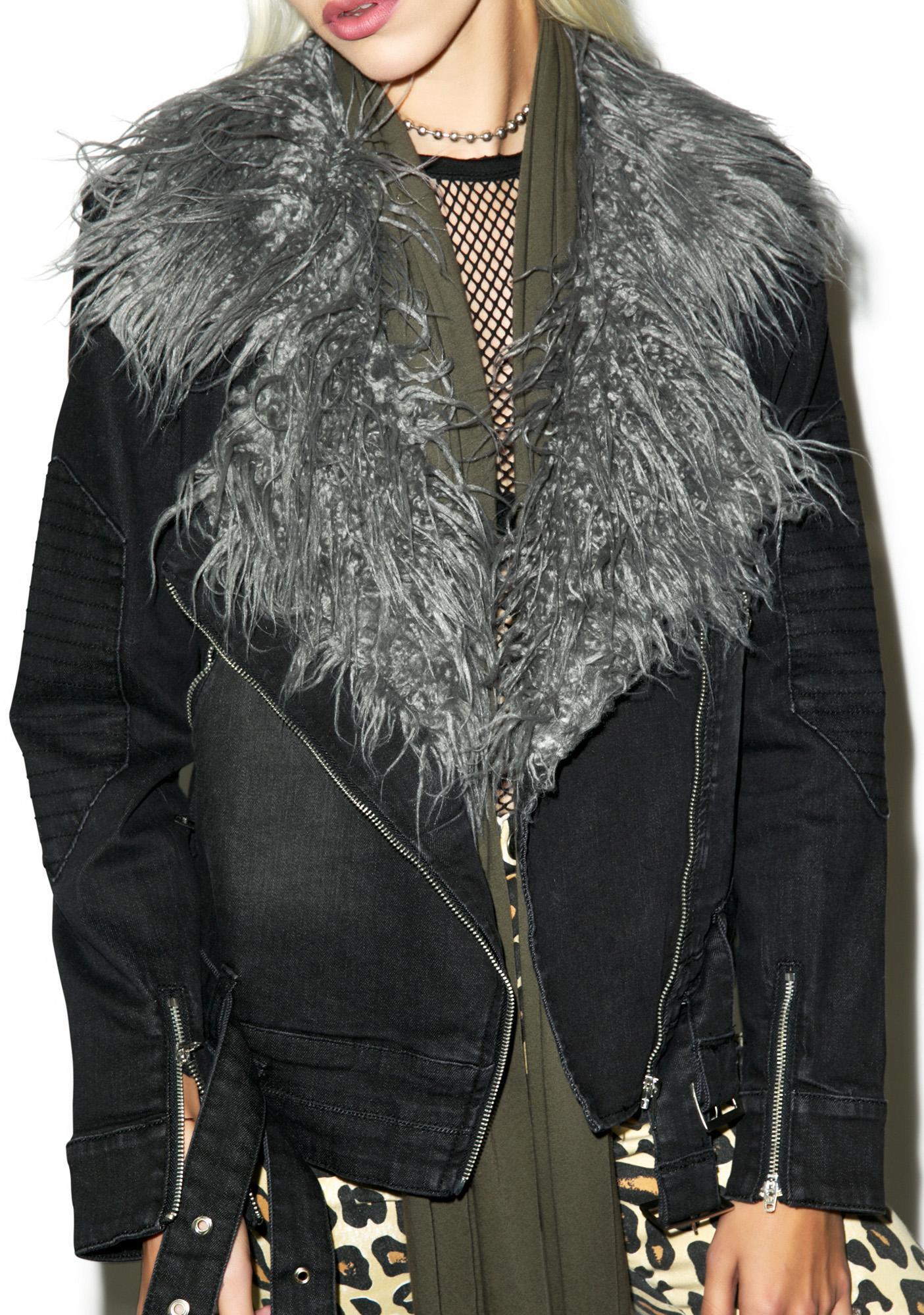 Somedays Lovin Anita Stretch Denim Jacket