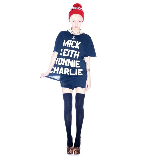 Wildfox Couture Fan Club Donovan Tee