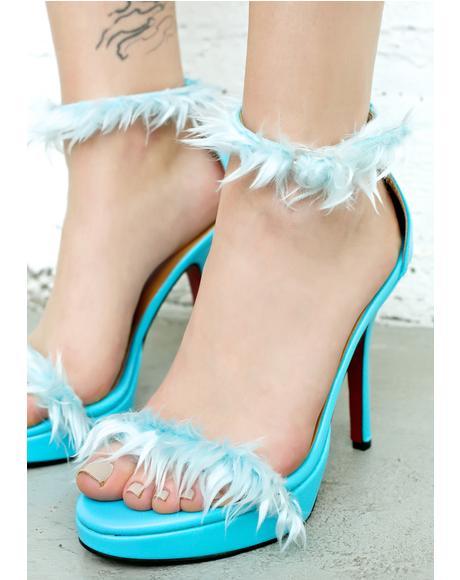 Blu Furbae Heels