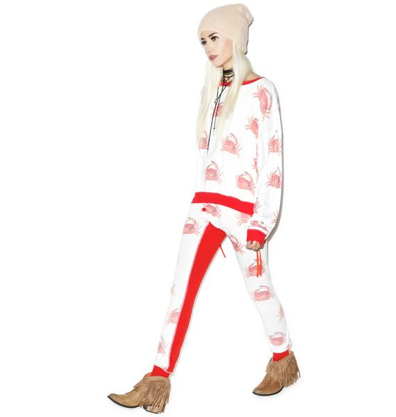 Wildfox Couture Crabby Campfire Leggings