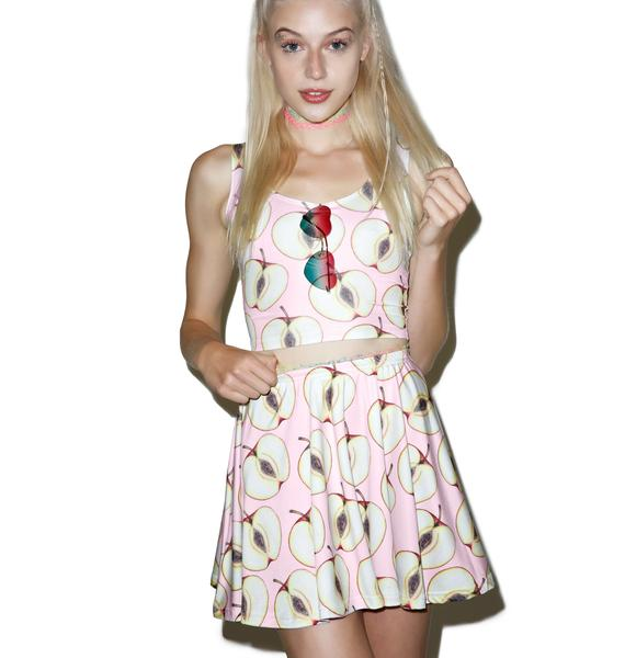 Twisted Bitches Forbidden Fruit Skater Skirt