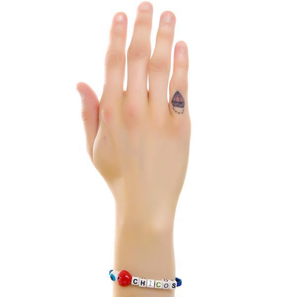 Venessa Arizaga I Love Chicos Bracelet