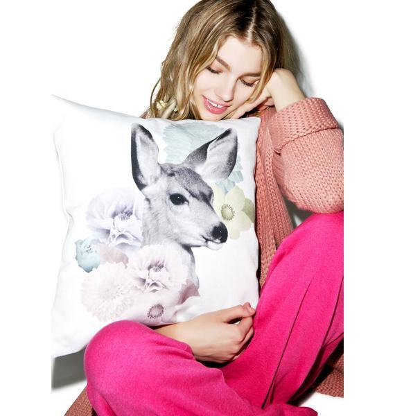 Doe n' Daisies Pastel Pillow