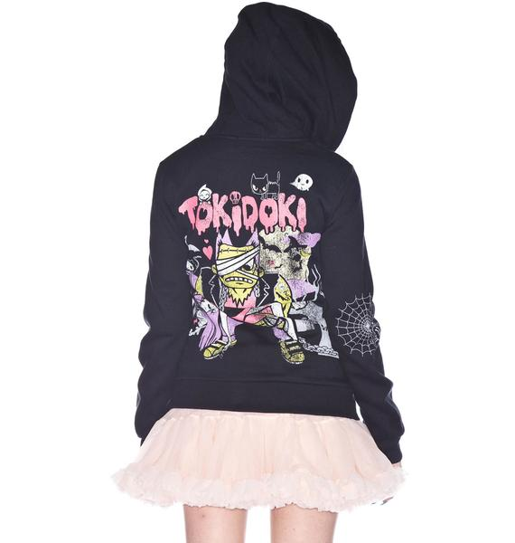 Tokidoki Afraid of the Dark Zip Hoodie