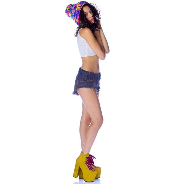 One Teaspoon Star Bonitas Shorts