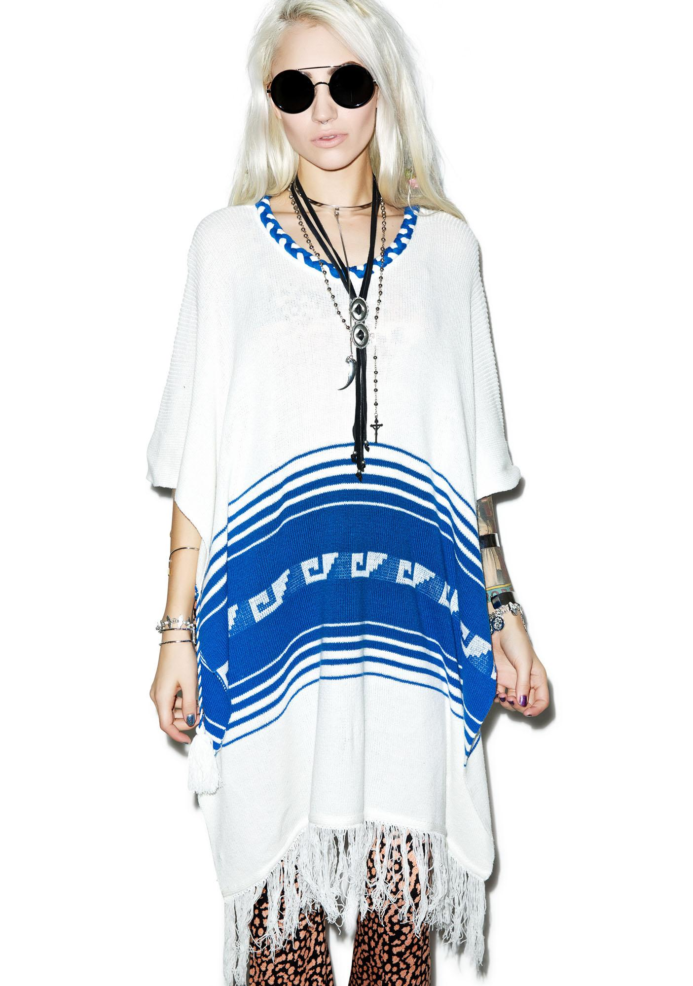 Wildfox Couture Frida Traveler Fringe Sweater