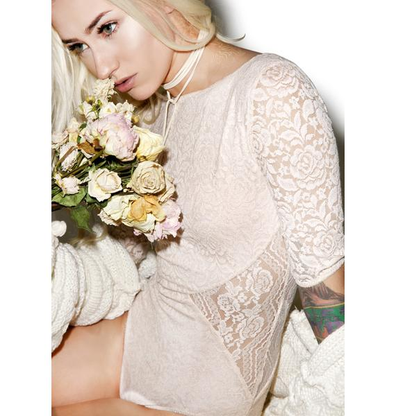 Somedays Lovin Sweet Talker Lace Bodysuit