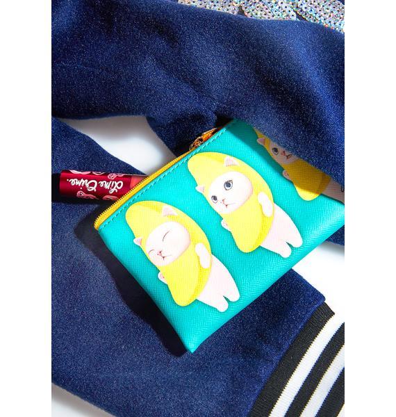 Jetoy Banana Cat Card Case