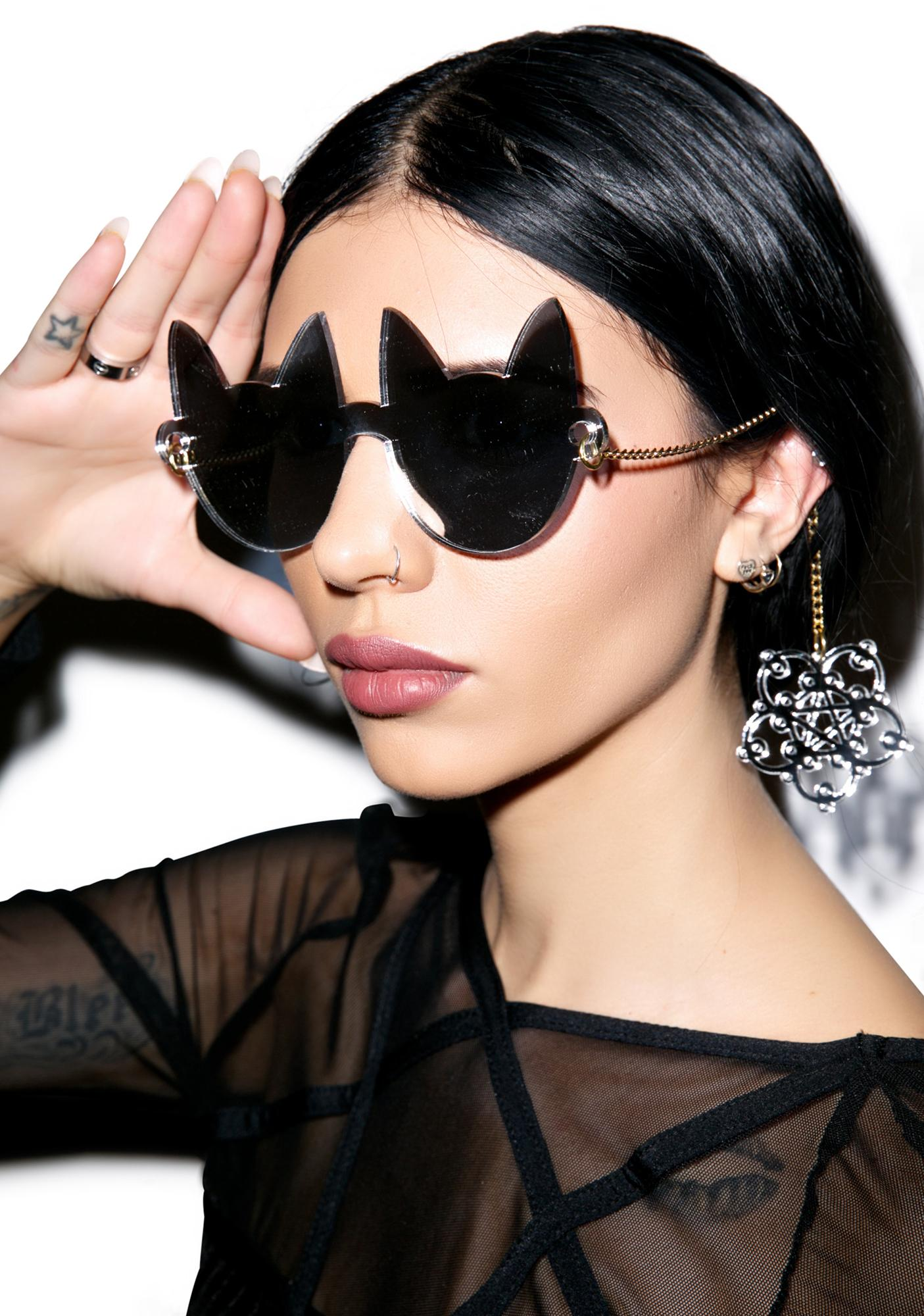 Here Kitty Cat Eye Glasses