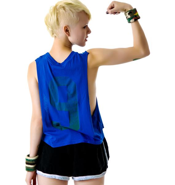Rebel Yell Jogging Muscle Cut Off Tank