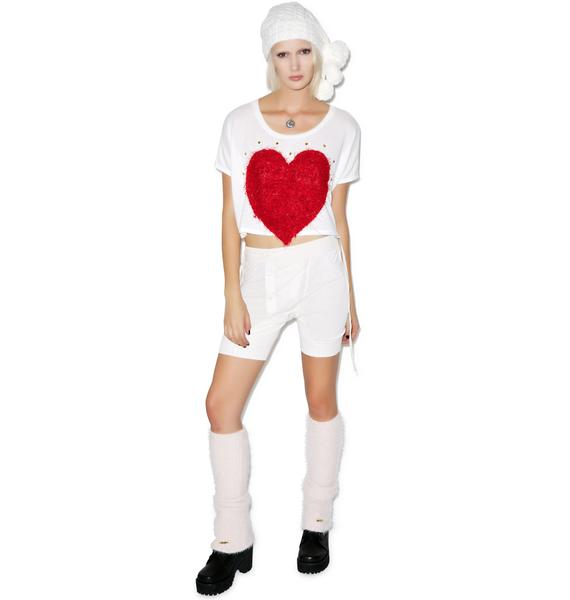 Queen of Heartz Patch Sweater