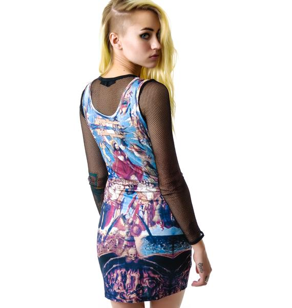 Angels and Demons Tank Dress
