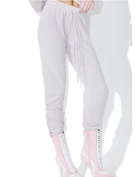 Lilac Dawn Fame Joggers