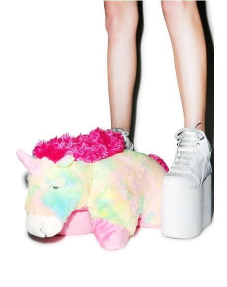 Rainbow Unicorn Pillow