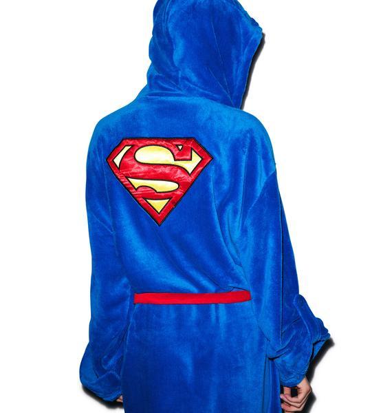 Undergirl Superman Hooded Robe