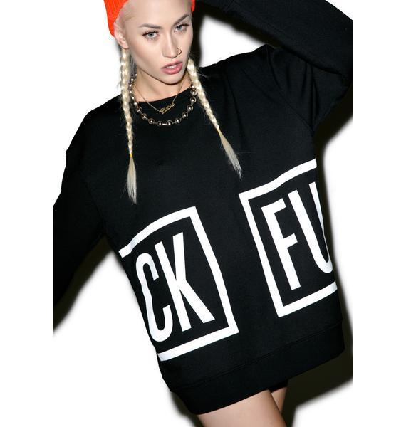 MeYouVersusLife CKFU Crewneck Sweater