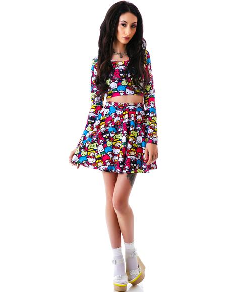 Japan L.A. x Sanrio Friends Circle Skirt