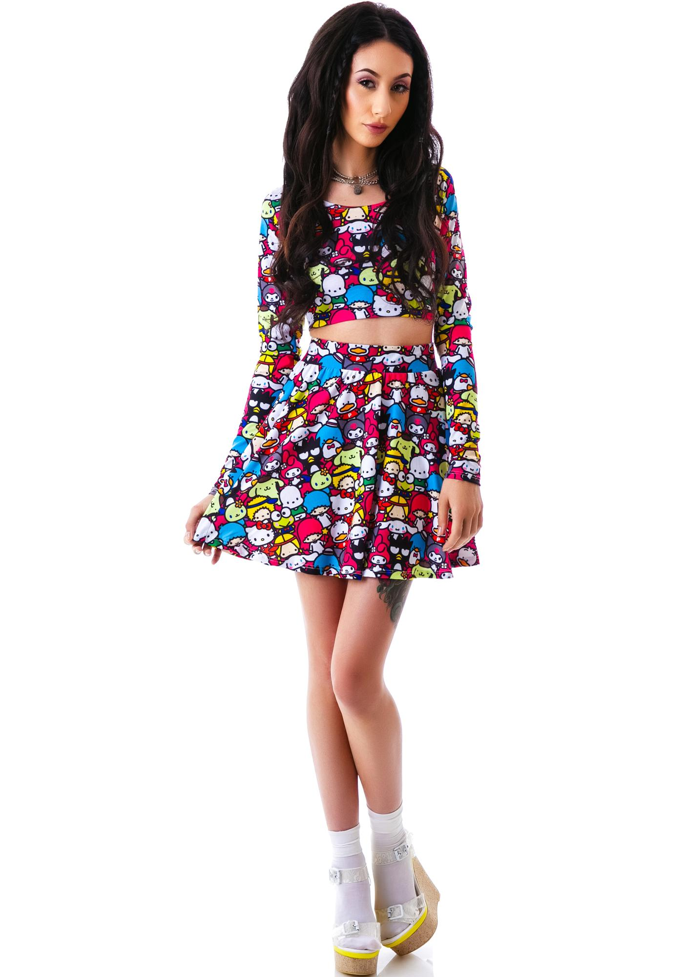 Japan L.A. Japan L.A. x Sanrio Friends Circle Skirt