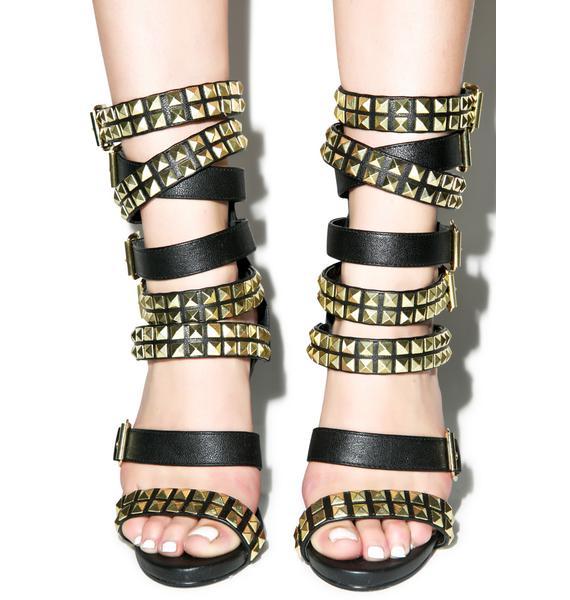 Naveh Buckled Heels