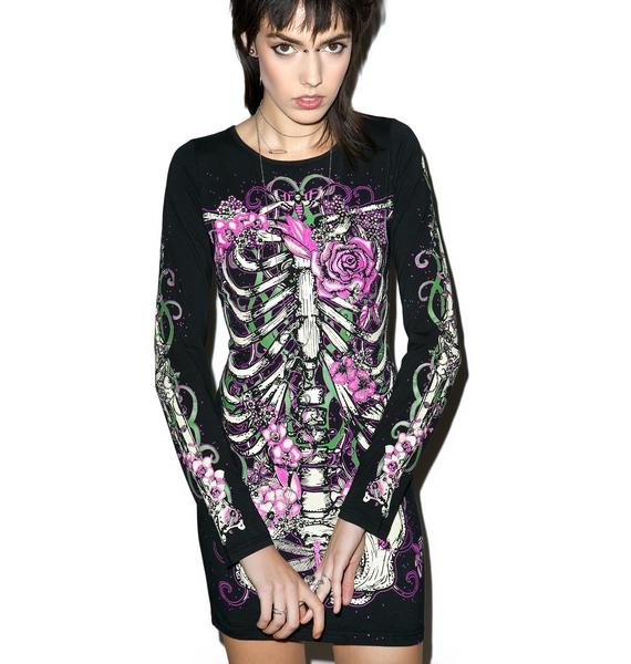 Lovely Bonez Bodycon Dress