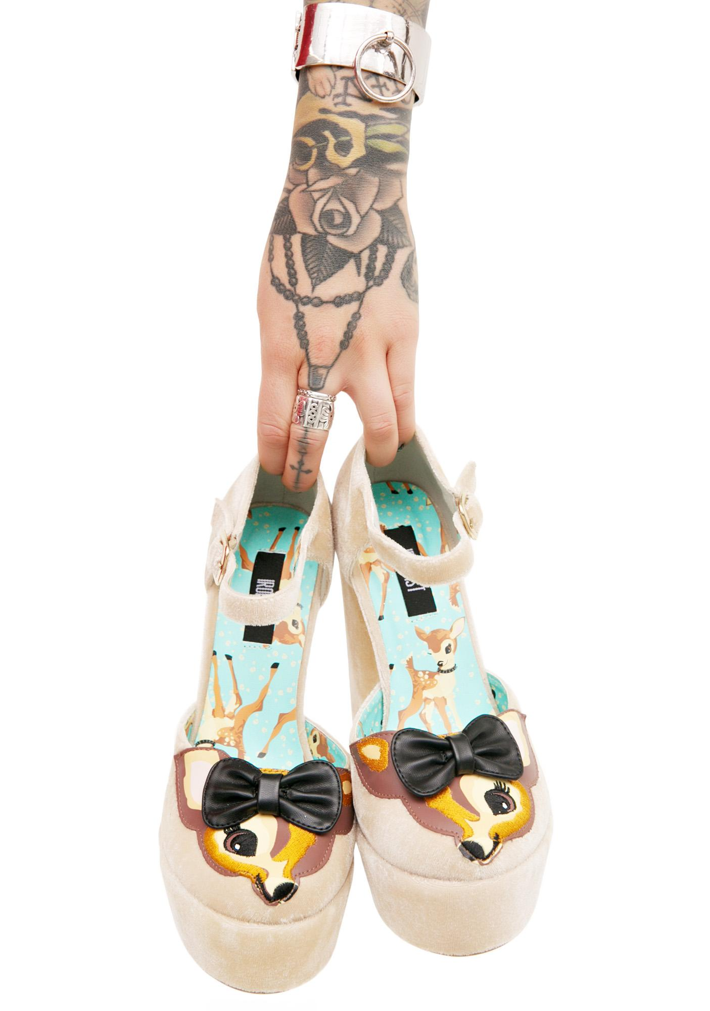 Iron Fist Deer Me Platforms