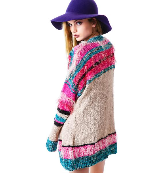 Mink Pink Gypsy Love Cardigan