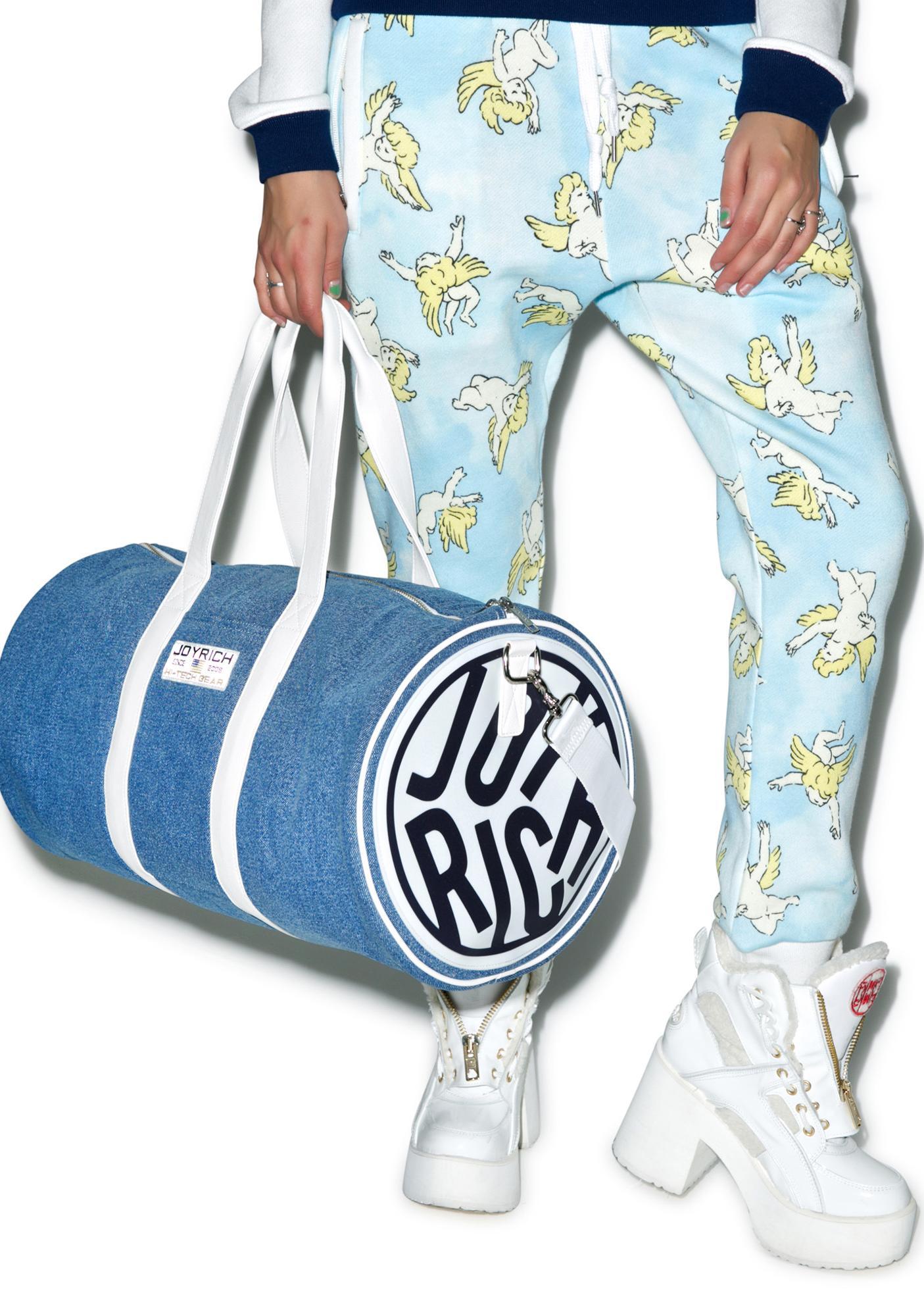 Joyrich Denim Boston Bag