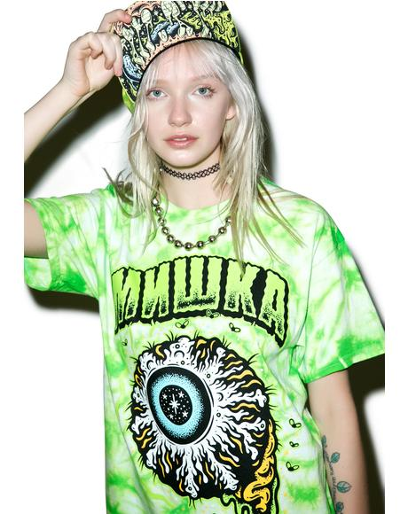 Tall Boy Keep Watch Tie Dye Tee