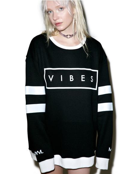 Vibes Crewneck Sweatshirt