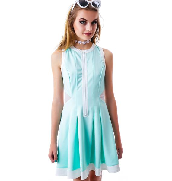 Love Match Tennis Pleated Dress