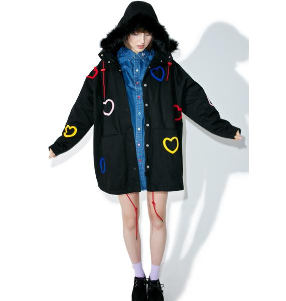 Lazy Oaf Heart Collection Jacket