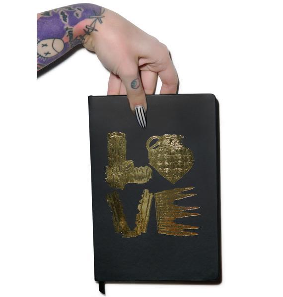 Lauren Moshi Love Kills Notebook