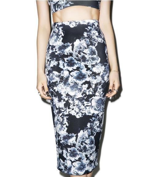 Ripple Neoprene Skirt