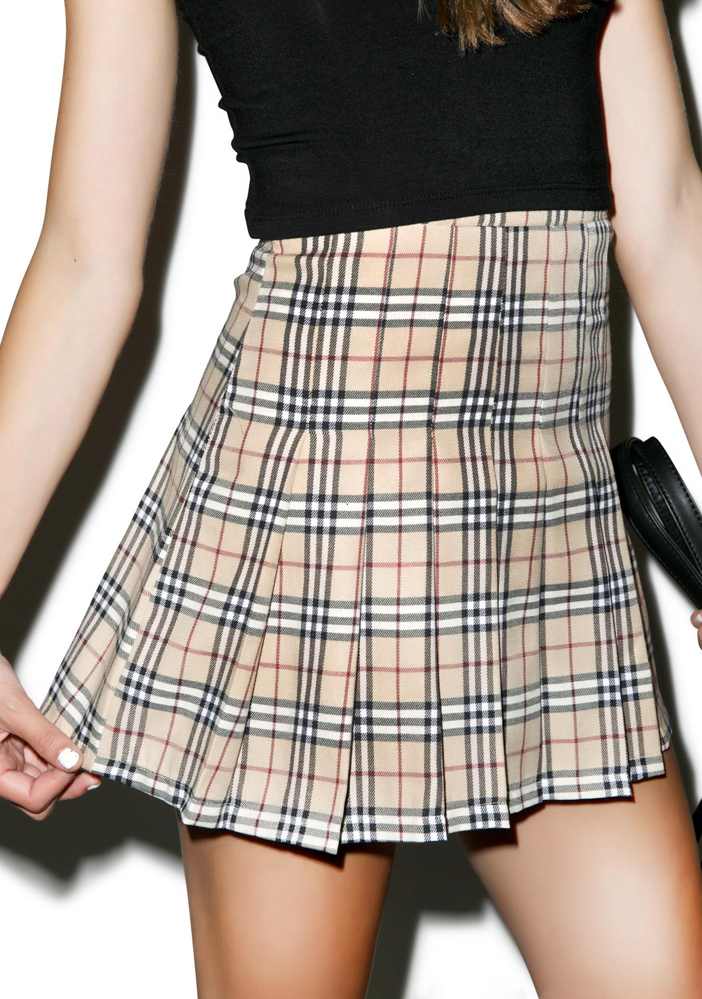O Mighty Not So Plaid Tennis Skirt