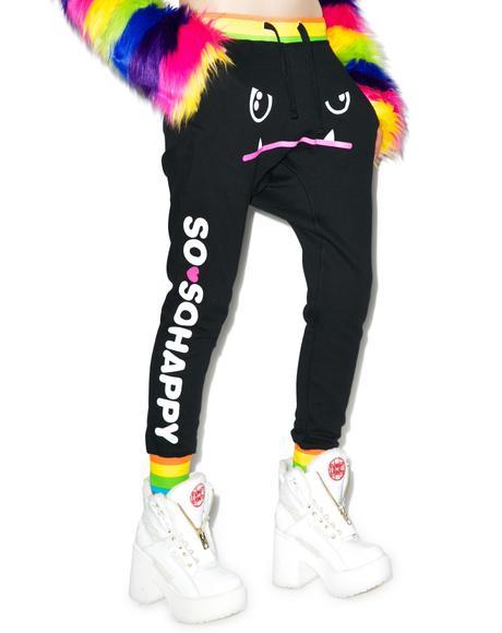 X So So Happy Mad Dog Harem Pants