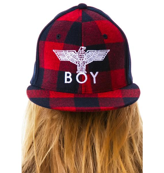 BOY London BOY Plaid Cap
