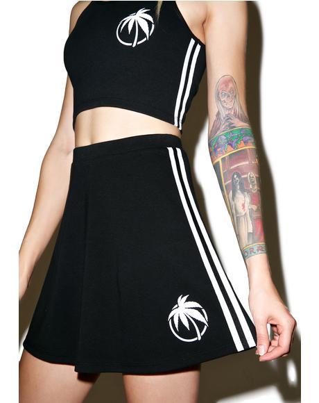 Palm Tennis Skirt
