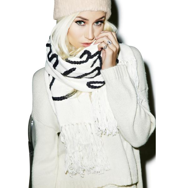 Wildfox Couture Hangover Chainlink Scarf