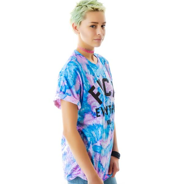 Kill Brand Fuck Everything Cotton Candy Tee