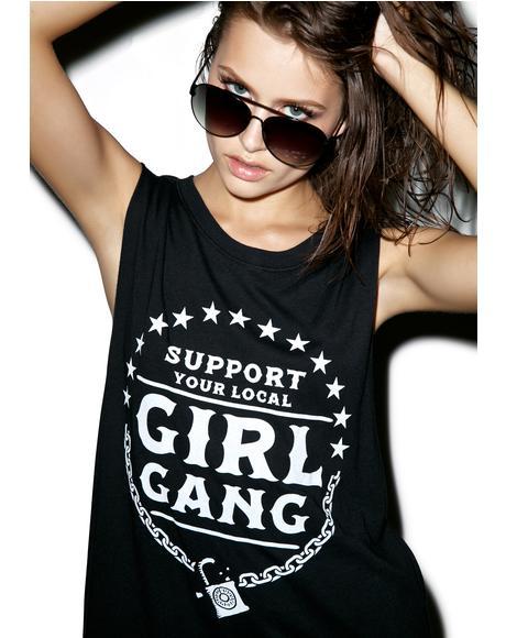 Homegrown Girl Gang Tank Top