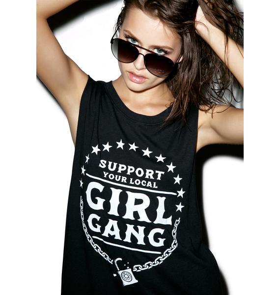 Social Decay Homegrown Girl Gang Tank Top