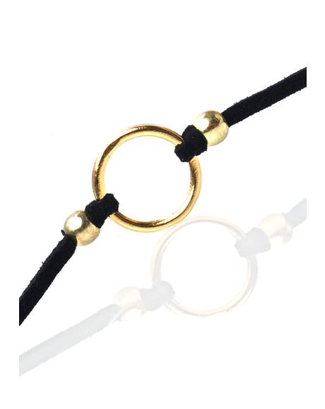 The Gold Ring Choker