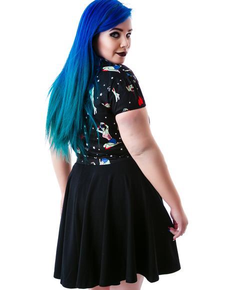 Flirt With Me Flair Skirt