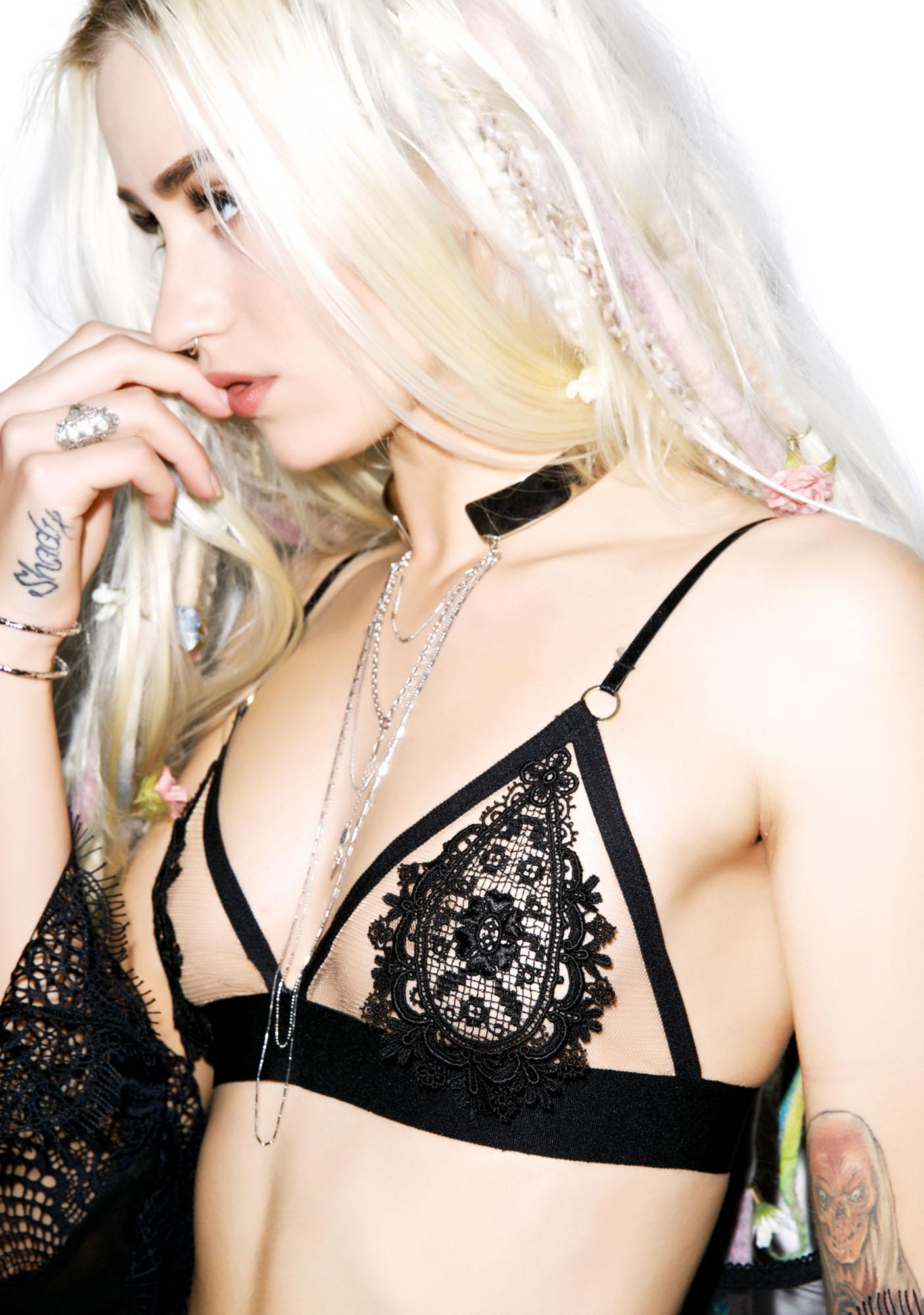 For Love & Lemons Victorian Bralette