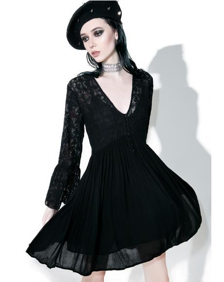 Dark Tower Lace Dress