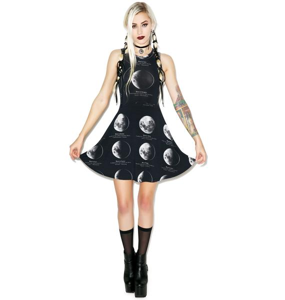 Killstar Lunar Skater Dress